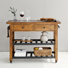 [ONLY] ASHLEY D300 MARLIJO KITCHEN CART 트롤리 당일발송 - 마켓비